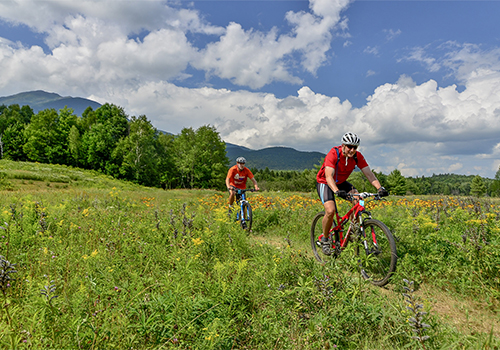 Mountain bike racing at Great Glen Trails